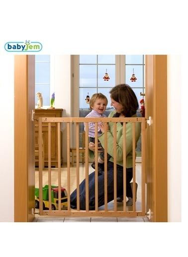 Baby Jem Babyjem Ahşap Güvenlik Kapısı Renkli